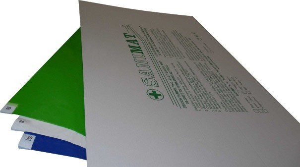 Decontamination mats 115x45 cm 5x30pcs