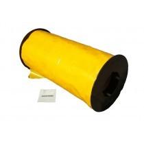 YELLOW STICKY ROLLS 30cm x 100m