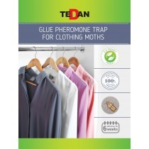 Glue pheromone trap for clothing moths