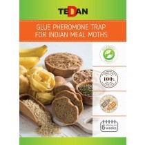 Glue pheromone trap for Indian meal moths