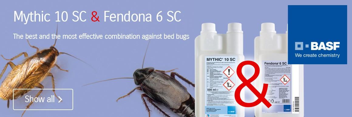 Mythic 10 SC + Fendona 6 SC