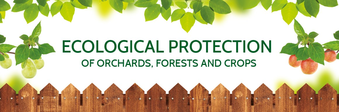 eco protection of orchards, forests and crops