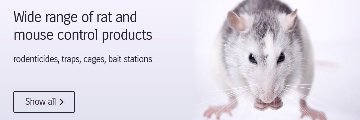 Wide range of rat and mouse control products